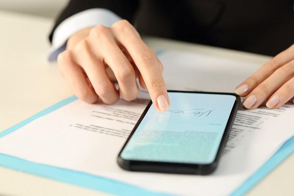 Service commercial _ Signature digitalisée